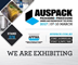 Come see us at AUSPACK 2017 in Sydney on Stand # 378
