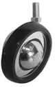 Metal Ball Castor with Polyurethane Tyre 100mm