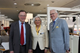 Hannover's mayor Stephan Weil with Margrit and Dietmar Harting.