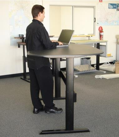 Making the switch to a standing desk