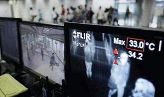 Using thermal imaging as an effective airport security tool