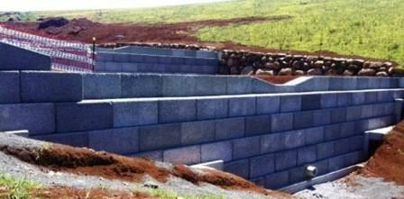 Stormwater retention basin design