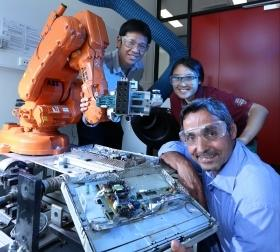 Putting robots to work on e-waste