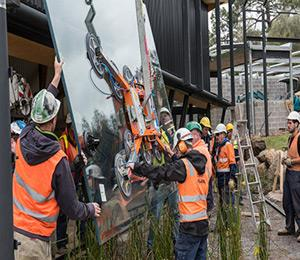 Kennards Hire roars into action at Melbourne Zoo