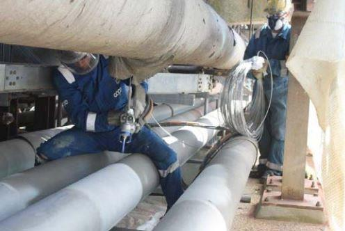 Metalspray protecting pipelines from corrosion under insulation