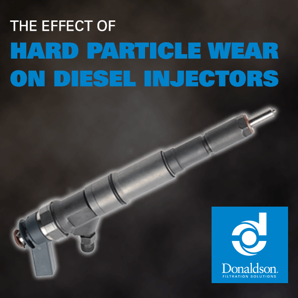 The Effect of Hard Particulate Wear on Diesel Injectors