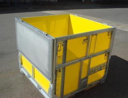MultiBox Folding Cube IBC - Split lids means no pieces to lose