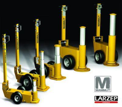 Larzep's Mammut Air Hydraulic Jack Range