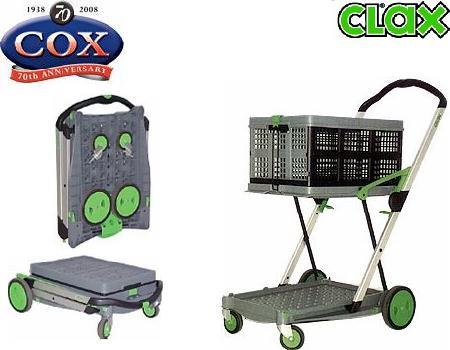 Clax Cart's German Engineering - Light, Compact, Colapsible Trolley